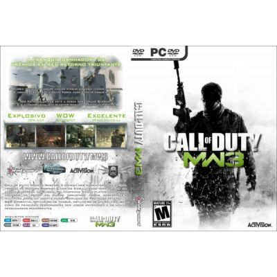 CALL OF DUTY MODERN WARFARE 3'' XBOX 360 '' PRONTA ENTREGA NO BRASIL  AMERICANO - NTSC- ORIGINAL- LA