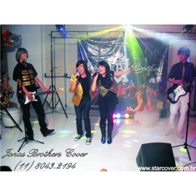 Jonas Brothers Cover e Demi Lovato Cover (11) 8043.2194