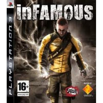 JOGO inFAMOUS - Playstation 3 PS3 - blu-ray disc