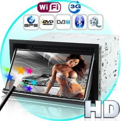 DVD Car - In Dash - With 3G Internet (2DIN GPS DVB-T