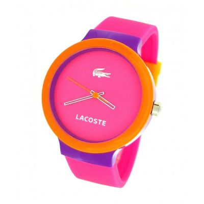 Lacoste cor de rosa bloco goa  made in usa 351,00R$