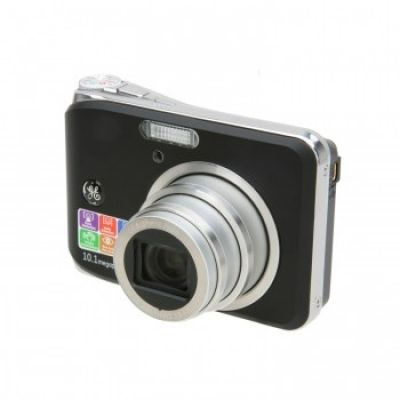 GE 10.1 MP 2.5 LCD 3X Optical Zoom Digital Camera