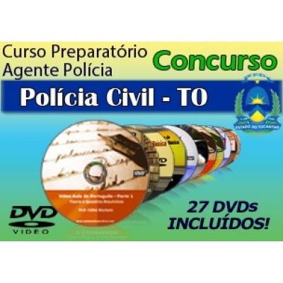 Videoaulas do Concurso Agente de Polícia Civil do Tocantins 2014