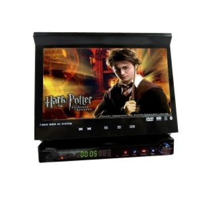 DVD Player de 7 Polegadas HD com Touch Screen Monitor TFT LCD / TV / Sintonizador FM & Amplificador